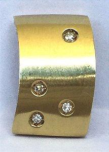 Pingente Estrelas do Céu - Joia de Ouro 18 quilates com Diamantes