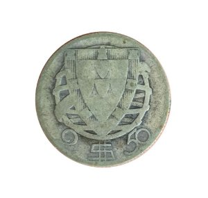 Moeda Antiga de Portugal 2,50 Escudos 1932