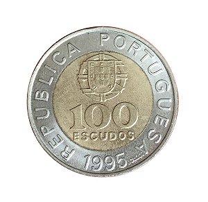 Moeda Antiga de Portugal 100 Escudos 1995 - FAO