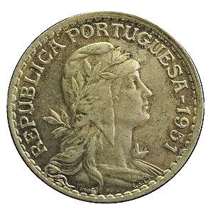 Moeda Antiga de Portugal 1 Escudo 1951