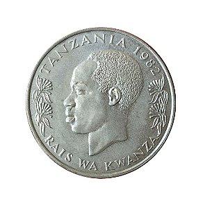 Moeda Antiga da Tanzânia 1 Schilling 1982