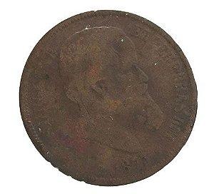 Moeda Antiga do Brasil 40 Réis 1873