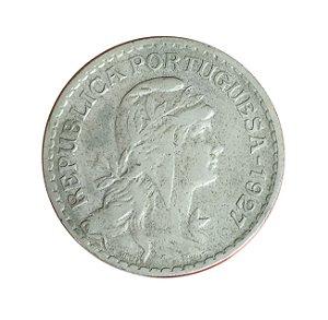 Moeda Antiga de Portugal 1 Escudo 1927