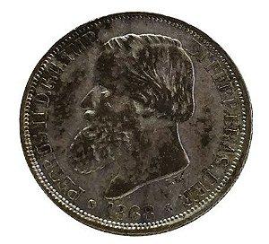 Moeda Antiga do Brasil 200 Réis 1868