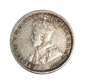 Moeda Antiga da Austrália Shilling 1931