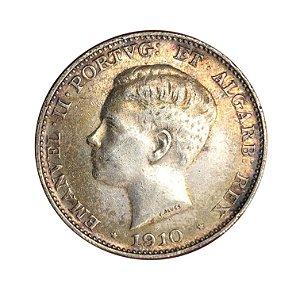 Moeda Antiga de Portugal 500 Réis 1910 - Marquez de Pombal