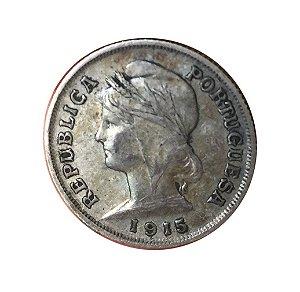 Moeda Antiga de Portugal 10 Centavos 1915