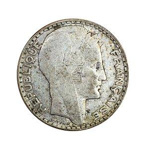 Moeda Antiga da França 10 Francs 1932