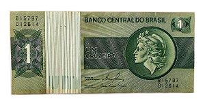 Cédula Antiga do Brasil 1 Cruzeiro 1980