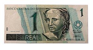 Cédula Antiga do Brasil 1 Real 1994