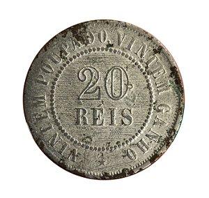 Moeda Antiga do Brasil 20 Réis 1895