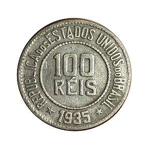 Moeda Antiga do Brasil 100 Réis 1935