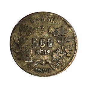 Moeda Antiga do Brasil 500 Réis 1927