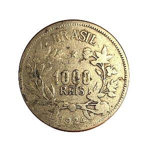 Moeda Antiga do Brasil 1000 Réis 1924