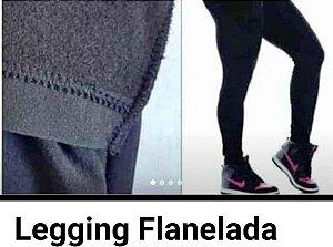 Calça Legging Suplex Flanelada