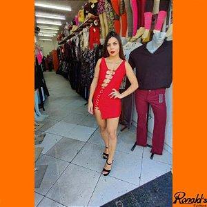 Vestido Moda Balada de Argola