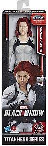 Boneco Taskmaster Viúva Negra Titan Hero Series - Hasbro