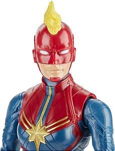 Avengers Vingadores Boneco 30cm Capitã Marvel - Hasbro E7875
