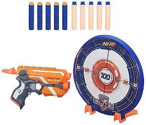 Lançador NERF Firestrike Elite com ALVO AZUL Hasbro A9541 11903