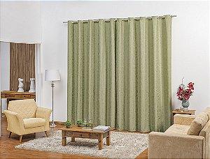 Cortina para Sala e Quarto Umbra 2,00 x 1,80m Verde