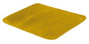 Tapete De Portas Para Sala Liso Pelúcia 0,70 X 0,50 Amarelo