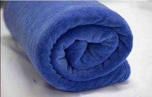 Cobertor Casal Manta Felpuda 01 Peça (toque Aveludado) Azul