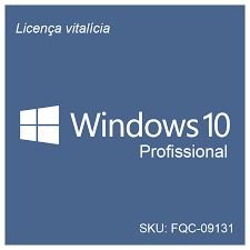Windows 10 Pro 32/64 Bits FQC-09131