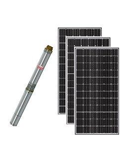 Kit Bomba Dagua Solar Thebe Ecaros 3tsm Ci 13 Estagios 750w 108v + 3 Placas
