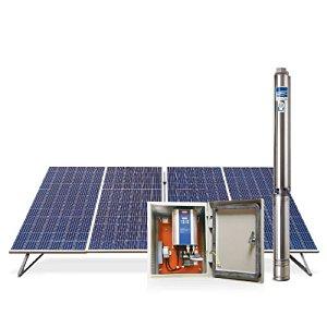 Bomba Sub Écaros 4bps2-25 1,5cv + Qc + Painéis Fotovoltaico