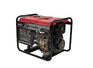 Gerador de Energia a Diesel Toyama Tdg2500bx 2200w Bivolt 110/220v