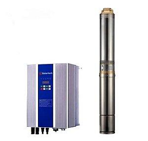 Sistema de Bombeamento Solartech Spa41k1020-2 Bomba D Agua Solar + 5 Paineis