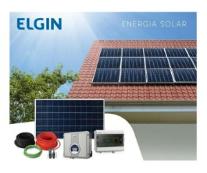 Kit Gerador Energia Solar Fotovoltaico Com 216 Paineis 340w 73,44kwp Elgin