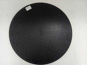 Disco De Plastico Preto 375mm MDE N 10 Para Desempenadeira Menegotti