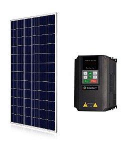 Kit Solartech Inversor Pk4000h Para Bomba 3cv Trifasico 380v + 14 Placas Solar 340w