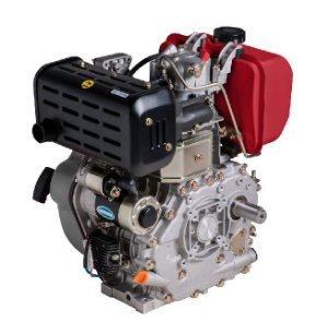 Motor A Diesel Branco Bd-10.0 R 10hp Partida Eletrica C/ Redução 1800rpm