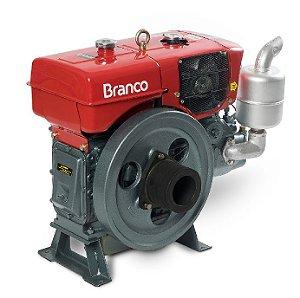 Motor A Diesel Branco Bda-18.0RA 17,4cv Refrigerado a Agua Partida Manual