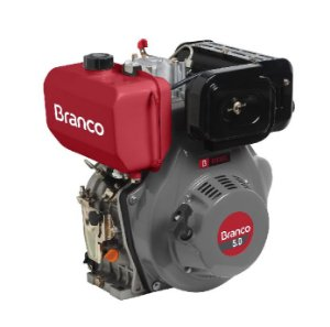 Motor A Diesel Branco Bd 5.0 Eixo H 4,7cv Partida Eletrica