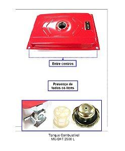 Peça Tanque Para Gerador Branco Gasolina Mg B4t-2500 L 70303690
