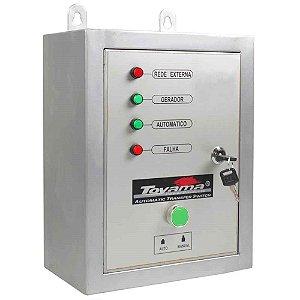 Painel ATS Para Gerador Trifasico 380v Toyama TDG7500/TDG8000 Serie XP