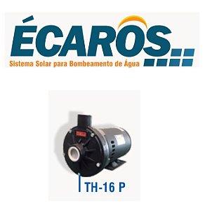 Bomba Solar Ecaros Th-16 P 1cv Nv Com Quadro Inversor