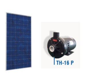 Kit Bomba Solar Ecaros Th-16 P 2cv Nv + Quadro Inversor + 8 Paineis 340w