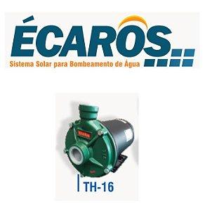 Bomba Solar Ecaros Th-16 Nr 1cv Nv Com Quadro Inversor