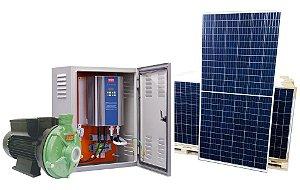 Kit Bomba Solar Ecaros Thebe Th-16 Nr 2cv Weg + Quadro Inversor + 8 Paineis 340w