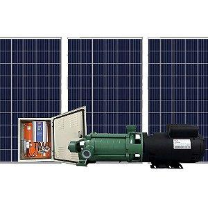 Bomba de Água Solar Ecaros P-11/7 5cv + Quadro Inversor + 14 Placas 340w