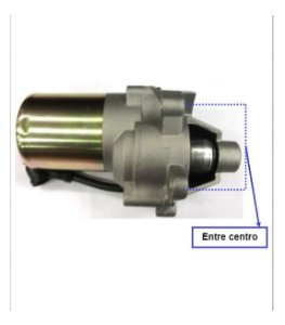 Motor De Partida P/ Motor B4t 5.5 E 6.5cv 12802310 Branco