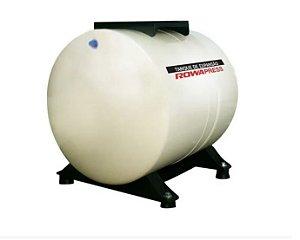 Tanque de Expansão Aço Carbono Horizontal 35L 150PSI Rowa