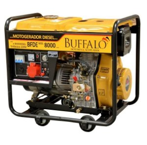 Gerador Diesel Buffalo Bfde 8000 Partida Eletrica Trifasico 220v