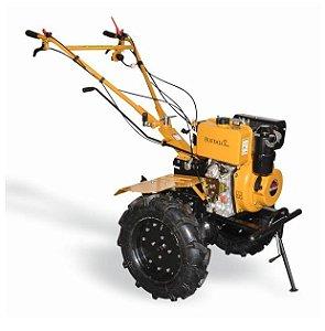 Motocultivador Trator 10cv Diesel Buffalo Bfd 1120  Pneu 5.0-12