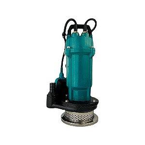 Bomba Submersivel Água Turva QDX6-18-0,75A 1cv Mono 127v