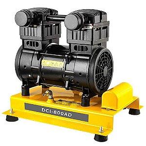 Compressor de Ar Lepono Dci-800ad 2cv Pressão Máxima 8,3 Bar 220v